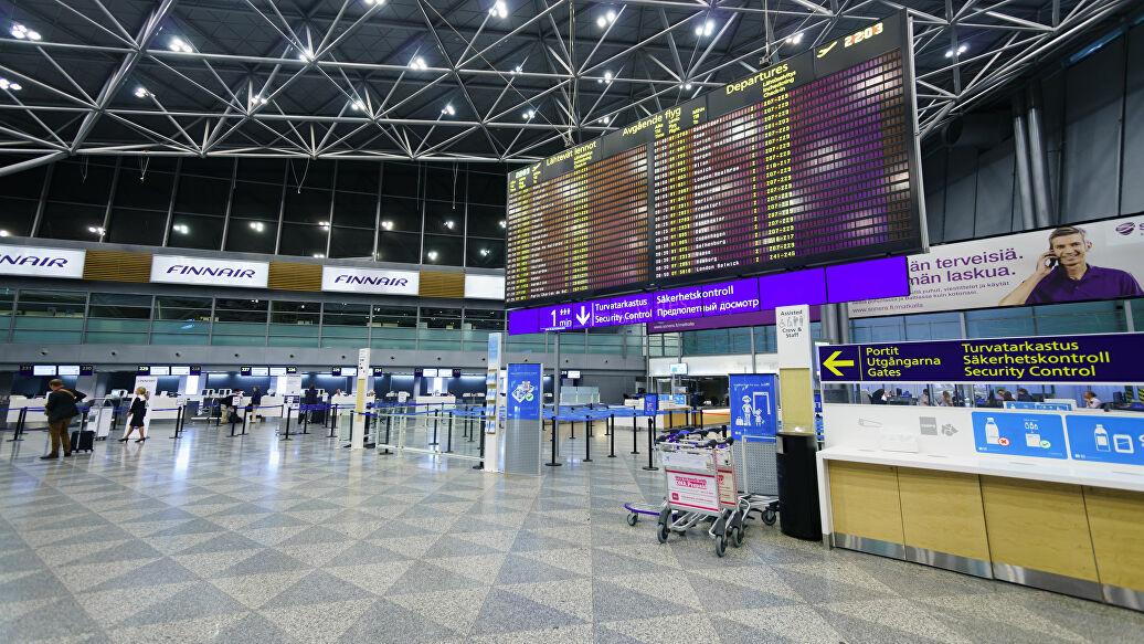 Аэропорт Финляндия Хельсинки в коронавирус