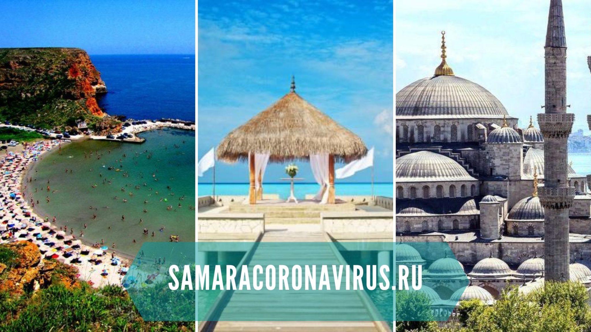 Страны открытые для туризма