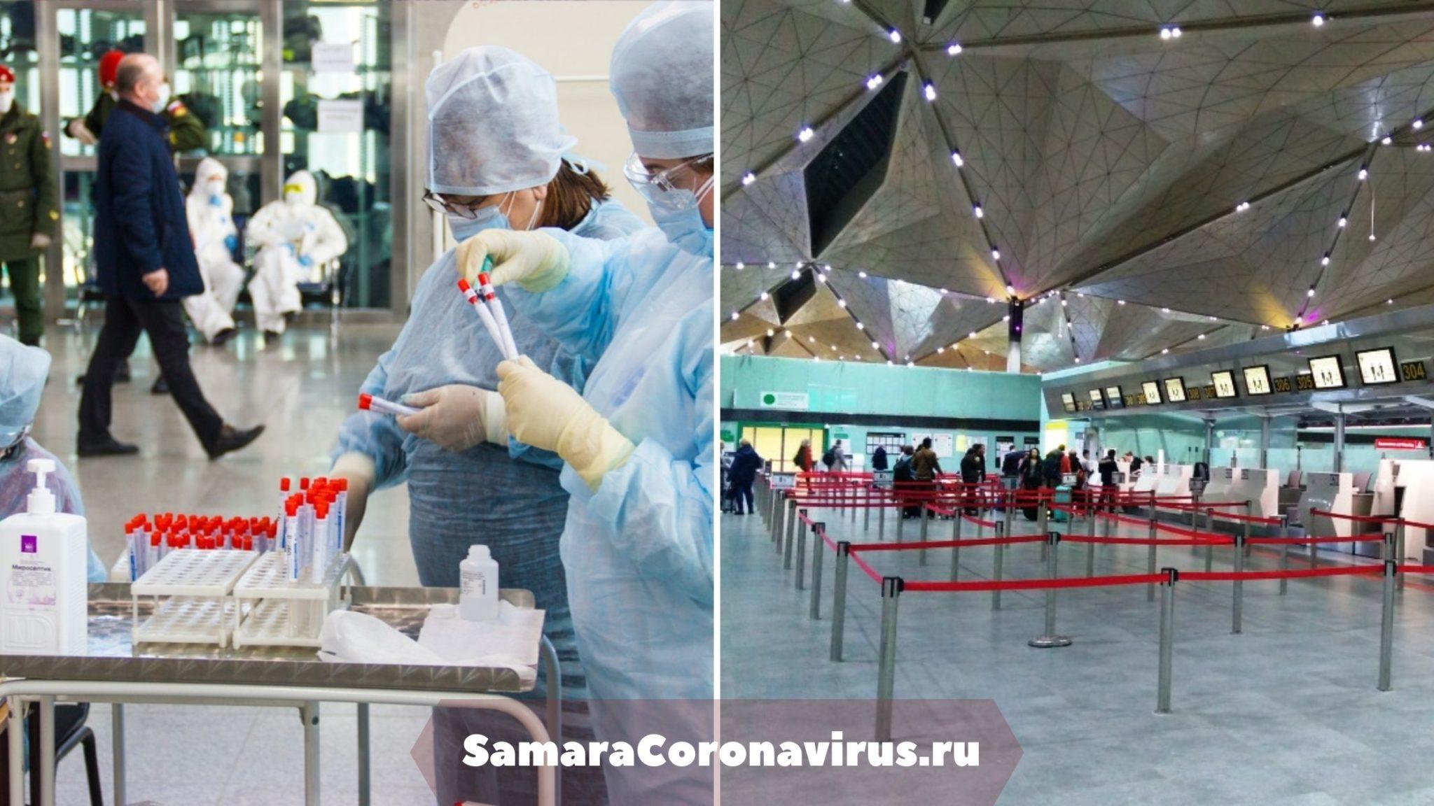 пцр тест на коронавирус пулково