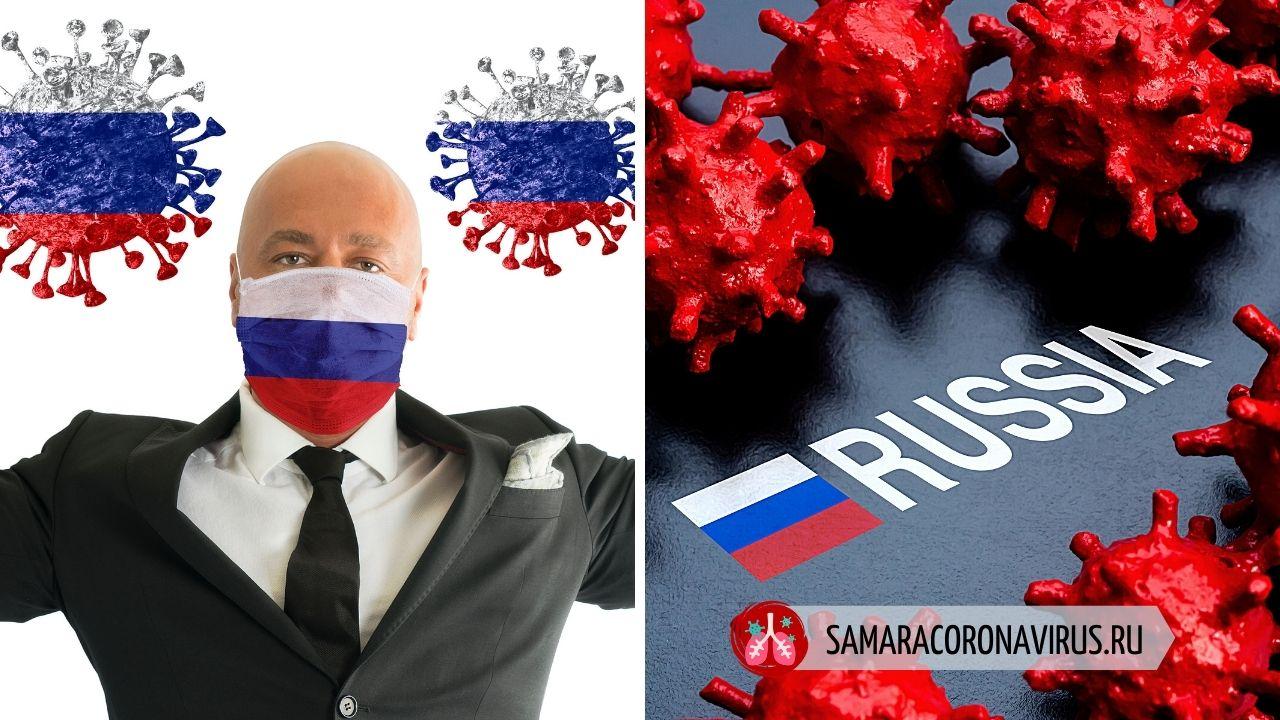 Рост заболевших коронавирусом по дням в России на сегодня